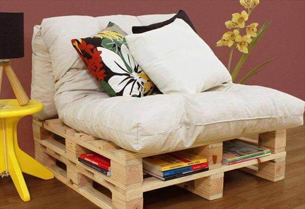 upcycled pallet sofa with storage