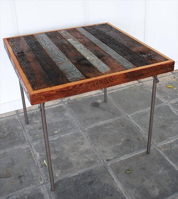 DIY Antique Pallet Coffee Table Tutorial 99 Pallets : reclaimed pallet wood coffee table 2 from www.99pallets.com size 600 x 673 jpeg 62kB