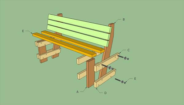 How To Build Pallet Bench 99 Pallets
