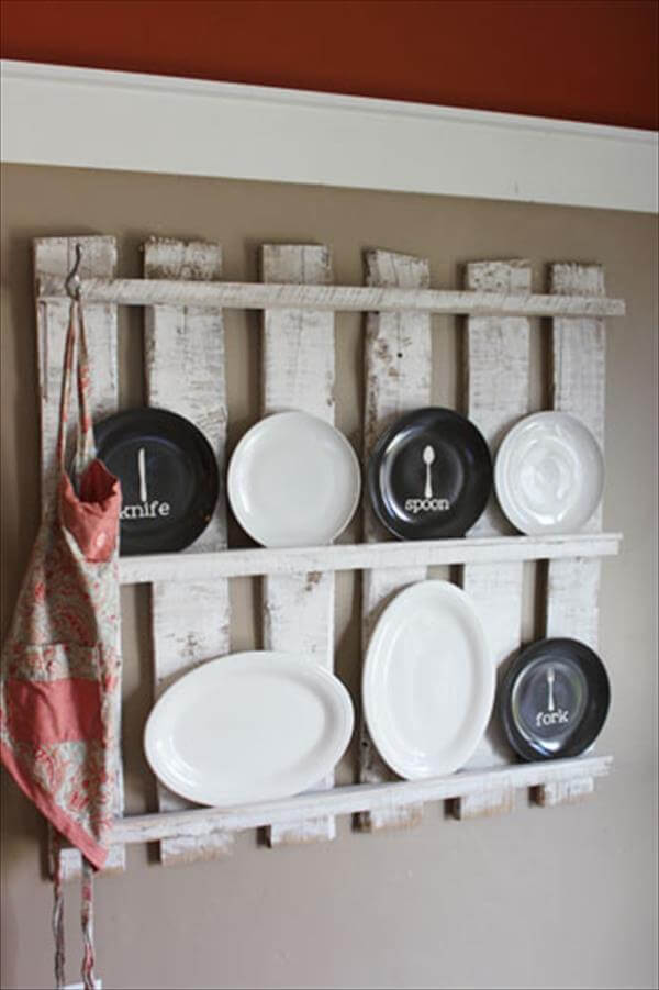 Diy Kitchen Utensil Rack Tutorial 99 Pallets