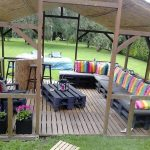 DIY Pallet Terrace Furniture