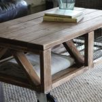 Pallet Coffee Table with Wheels Tutorial