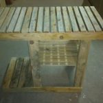 DIY Pallet Barbeque Table