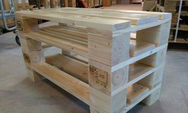 Diy Pallet Coffee Table And Tv Cabinet 99 Pallets