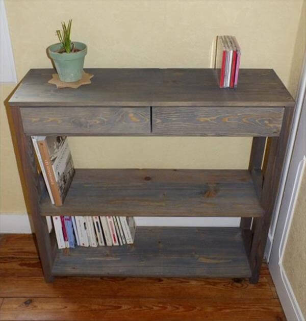 Pallet Entryway Table | 99 Pallets
