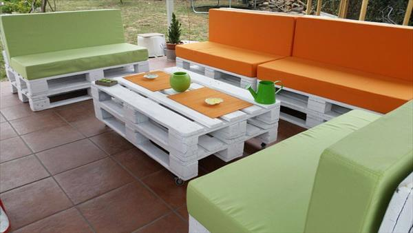 DIY Pallet Patio Furniture 99 Pallets