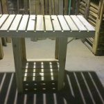 Rustic Pallet Outdoor Table