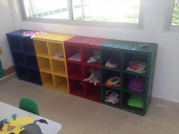 recycled pallet school furniture