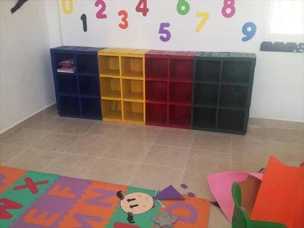 reclaimed pallet school furniture