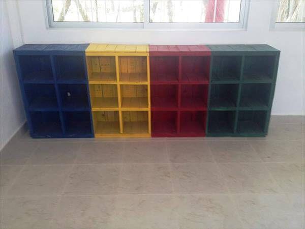 repurposed pallet school furniture