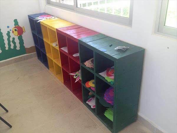 diy pallet school furniture