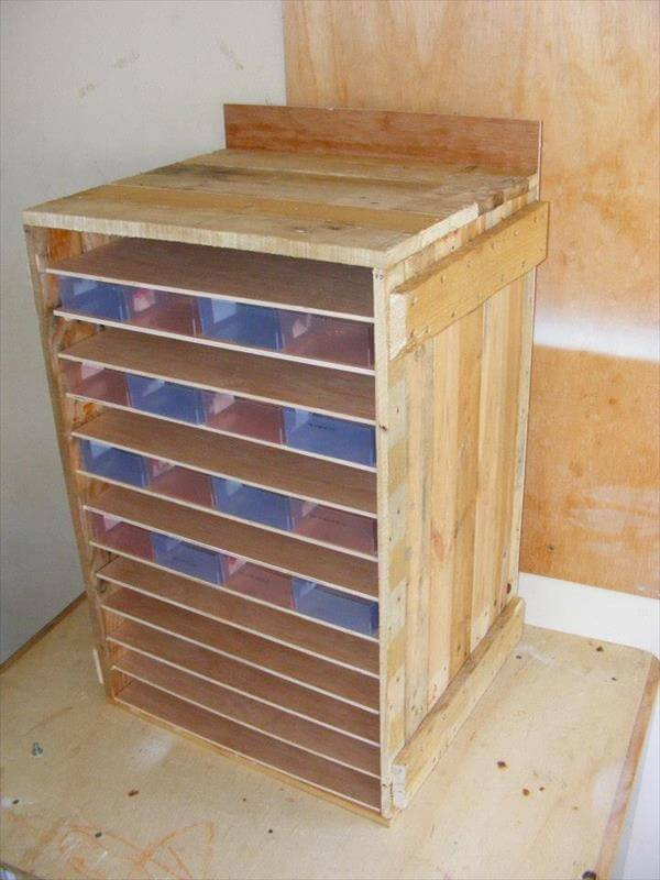 this cabinet for hardware nails, screws, nuts and bolts, wooden ...