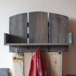 DIY Pallet Coat Rack with Spoon Hooks