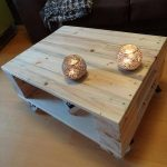 Rustic Pallet Coffee Table for Living Room