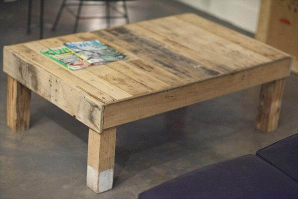 Diy pallet furniture 20 things you can do with pallets for Coffee tables you can sit on
