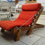 Comfortable Pallet Lounge Chair
