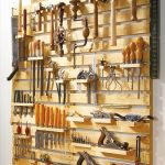 Hold Your Everything in Pallet Tool Rack