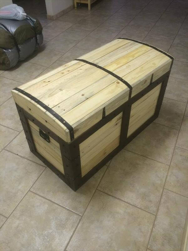 how to make a toy chest out of pallets | Discover Woodworking Projects