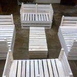 DIY Pallet Furniture Set for Garden