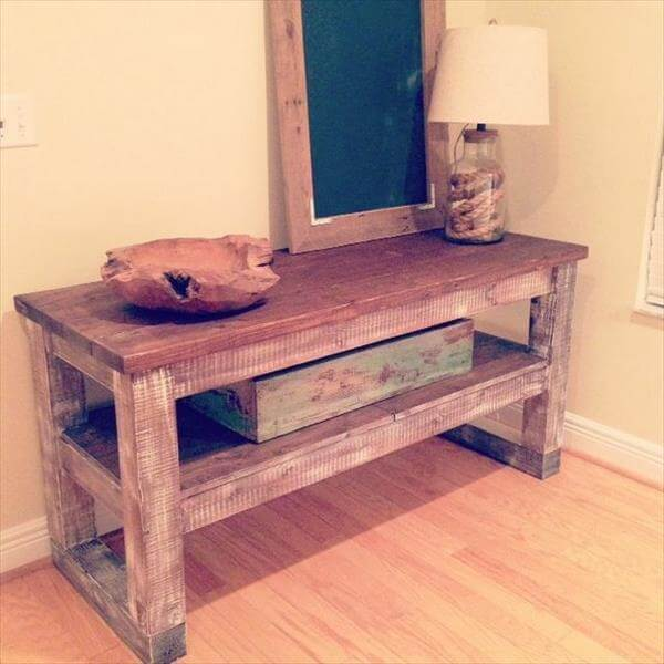 Rustic wainscoting ideas - Recycled Pallet Furniture 25 Unique Ideas 99 Pallets