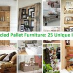 Recycled Pallet Furniture: 25 Unique Ideas