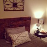 Old Recycled Pallet Headboard