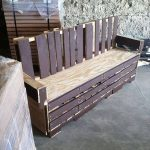 DIY Pallet Patio Bench and Coffee Table