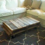 Rustic Pallet Coffee Table with Wheels: DIY Tutorial