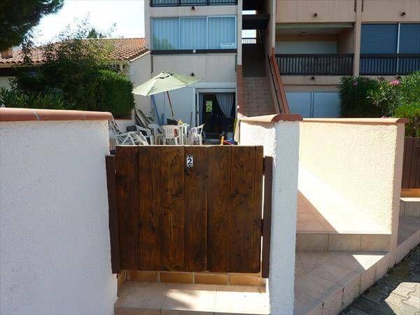 resurrected pallet entry gate