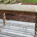 DIY Chic Pallet and Fence Panels Entryway Table