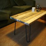 DIY Pallet Coffee Table with Hairpin Legs