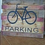 DIY Wooden Pallet Stenciled Wall Signs