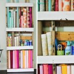 Storage Shelves from Pallet Wood