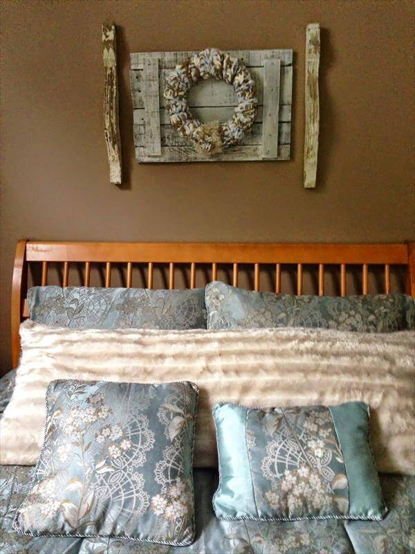diy pallet and corbels wall decor 99 pallets