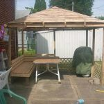 DIY Pallet Gazebo – Outdoor Pallet Ideas