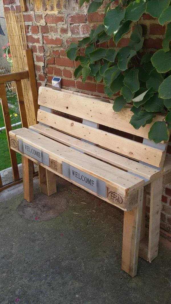 8 Diy Outdoor Pallet Sitting Furniture Ideas