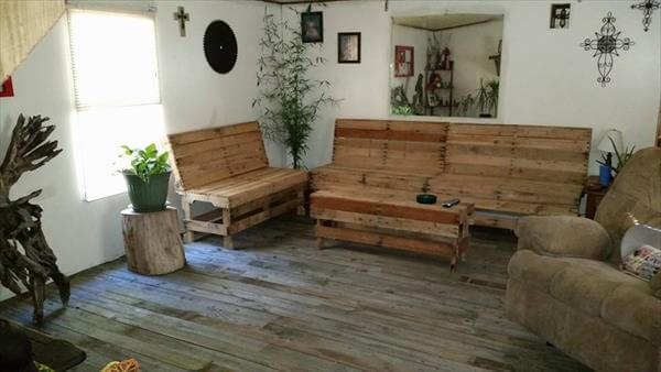 8 Diy Outdoor Pallet Sitting Furniture Ideas 99 Pallets