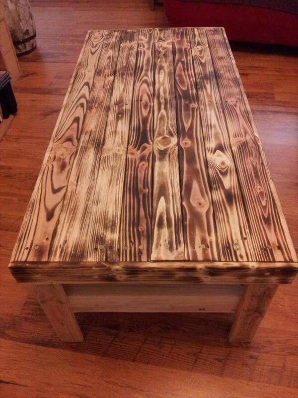 15 Unique Reclaimed Pallet Table Ideas 99 Pallets