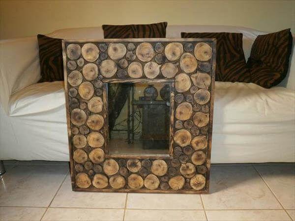 DIY Pallet Wall Mirror Ideas | 99 Pallets