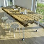 Vintage Inspired Pallet Dining Table
