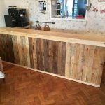 DIY Pallet L-Shape Desk – Counter and Bar Table