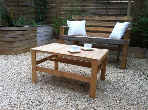 diy pallet patio coffee table 99 pallets