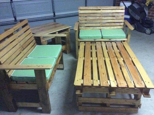 upcycled pallet sitting furniture plan