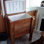 DIY Reclaimed Pallet Cooler