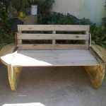 DIY Recycled Pallet and Cable Spool Bench – Patio Sofa!!!