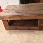 DIY Vintage Inspired Pallet Coffee Table