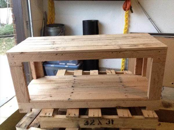 Wooden Grooming Table ~ Diy multiple purposes pallet table ideas