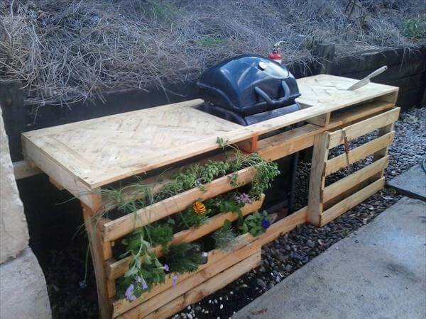 DIY Pallet Planter Ideas - Pallet Garden | 99 Pallets
