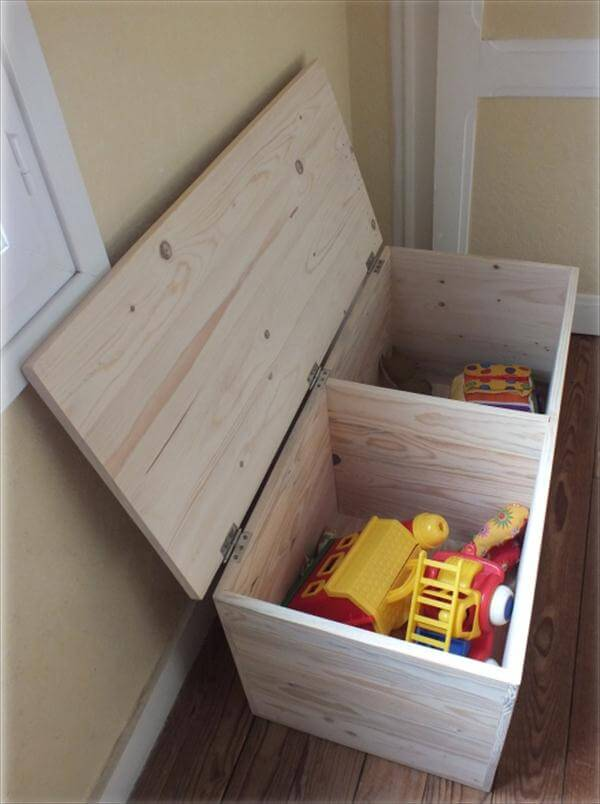 You can construct multiple compartments inside the storage box to ...
