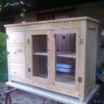 DIY Pallet Sideboard – Storage Cabinet